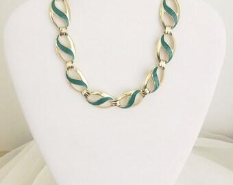 Sea Green Choker Necklace