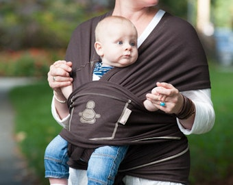 The JAVA BROWN Baby Buddha Carrier