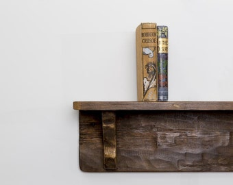 Lioveizla Handmade Reclaimed Wood Shelf. Custom Made to Order