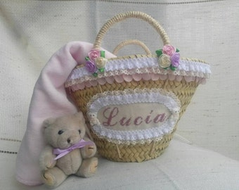 Beach carrycot for girls