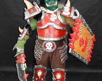 warhammer LARP / cosplay full orc costume