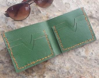 Bifold Wallet, Mens bifold wallet, Leather bifold wallet, Leather wallet, Mens wallet, Leather