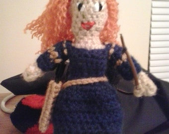 Little Merida doll