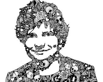 Ed Sheeran - A3 Poster