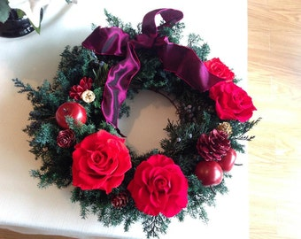 Preserved Flowers wreath
