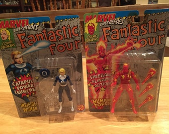 Marvel Super Heroes Fantastic Four Invisible Woman and the Human Torch