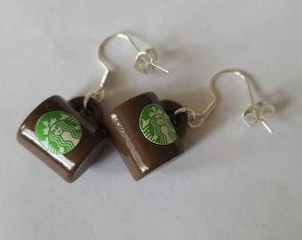 Famous coffee house earrings