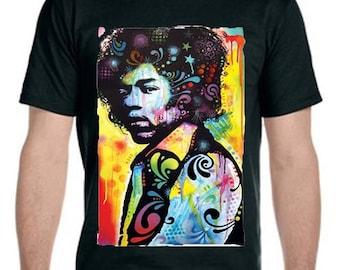 Jimi Hendrix Neon T-Shirt
