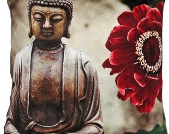 Buddha cushion cover
