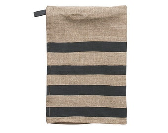 Pondicherry linen tea-towel
