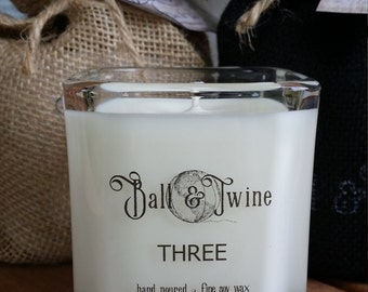 Ball & Twine THREE Soy Candle 9oz