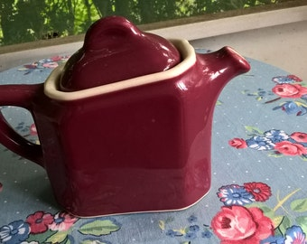 vintage tea for one teapot