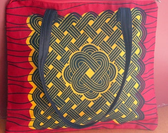 Ghana Print - Shoulder Bag