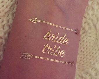 Bride Tribe Flash Tattoo