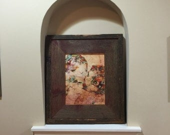 Weathered Reclaimed Wood 8x10 Picture Frame