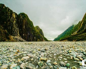 Scenic Photography - Glacial Canyon
