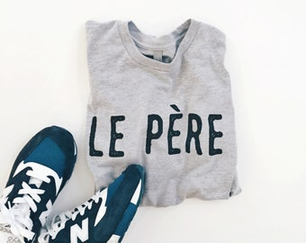 la père french design in heather gray made by jupe & olive