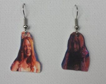 Handmade Carrie White    Stephen King Earrings