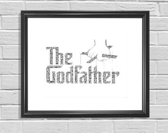 The Godfather Film - Framed Personalised Print
