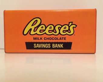 VINTAGE 1981 Reese's Peanut Butter Cup Savings Bank