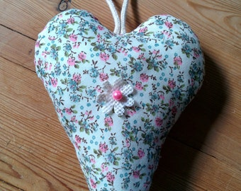 Large fabric heart