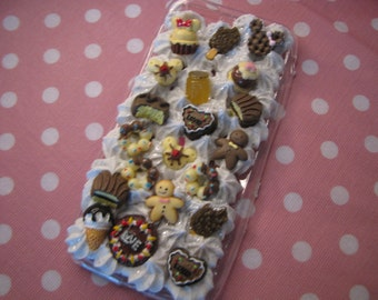Chocolate Love Decoden Case For iPhone 6/6s