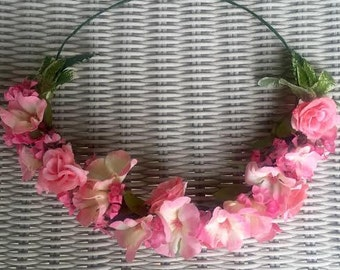 Customizable Flower Crown