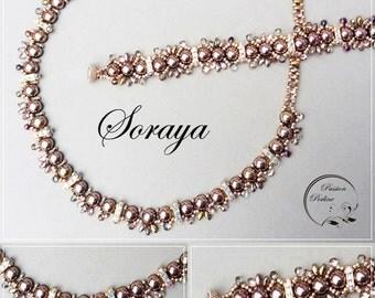 KIT diy necklace & bracelet SORAYA