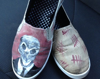 Doctor Who Shoes- The Silence