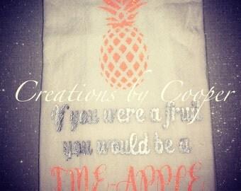Fine Apple flour sack towel