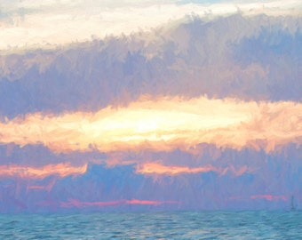 Morning Sky on Water #1