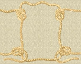 "7"" x 3.5"" western rope frame embroidery machine design file rodeo digital download"