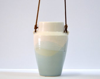 Landscape Vase / Modern Minimalist Ceramic Bud Vase