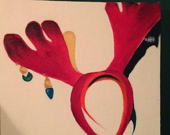 Reindeer abstract