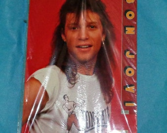 Rare Bon Jovi 1991 Calendar Music Memorabilia Collectable Vintage Published By Culture Shock Copyright Approved In Packaging Jon Bon Jovi