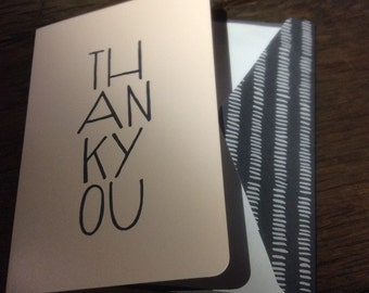 Thank you notes (blank)