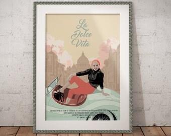 Poster - La Dolce Vita
