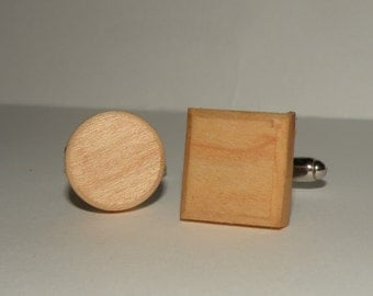 Cufflinks- Maple
