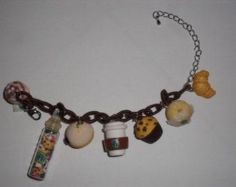 "Bracelet cafeteria ""Starbucks"""
