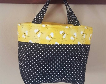Bumble Bee lunch tote