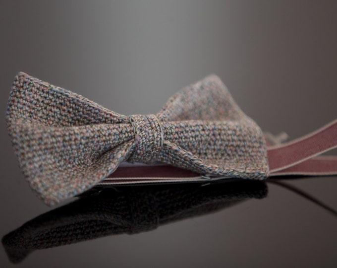 crochet fly / knitting fly Queenie from 100% silk, grey, pink, salvia, fuchsia