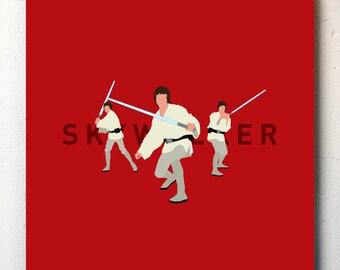 Star Wars / Luke Skywalker Canvas No.1