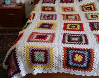 single bedspreads, handmade crochet