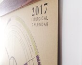 VALUE BUNDLE! Liturgical Calendar + Walnut Magnetic Wood Hanger