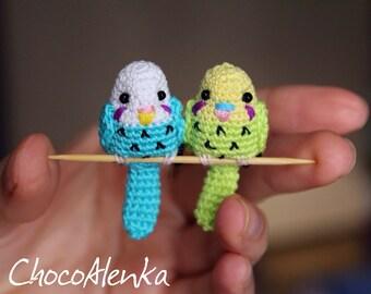 Amigurumi Budgie(crochet parrot)