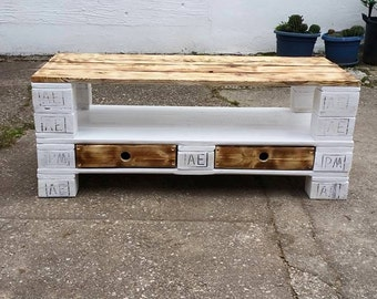 Pallet furniture sideboard from Euro pallets XXL SALE