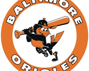 Baltimore Orioles Decal/Sticker