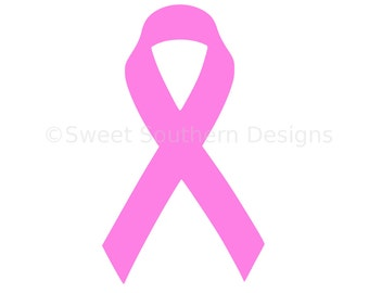 Awareness ribbon SVG instant download design for cricut or silhouette
