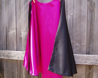 Witch / Wizard Cape - Pink