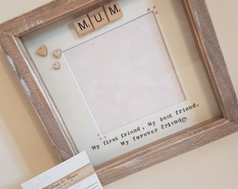 mothers day frame mothers day gift mum mummy photo frame my first friend my best friend my forever friend gift for mum